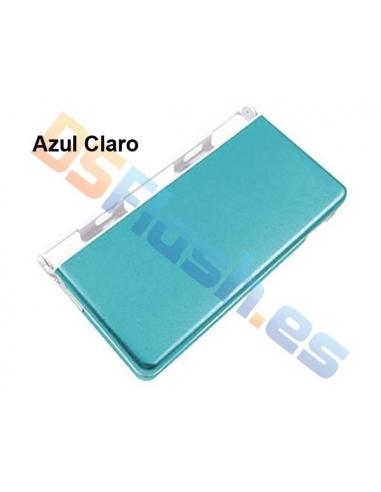 Imagen Carcasa Protección Nintendo DS Lite de Aluminio  azul claro