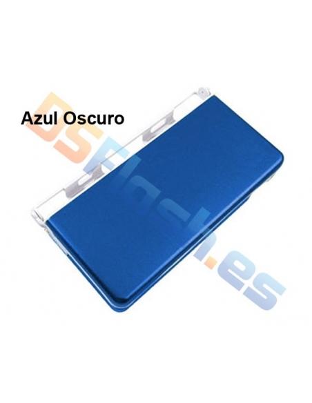 Imagen Carcasa Protección Nintendo DS Lite de Aluminio azul oscuro