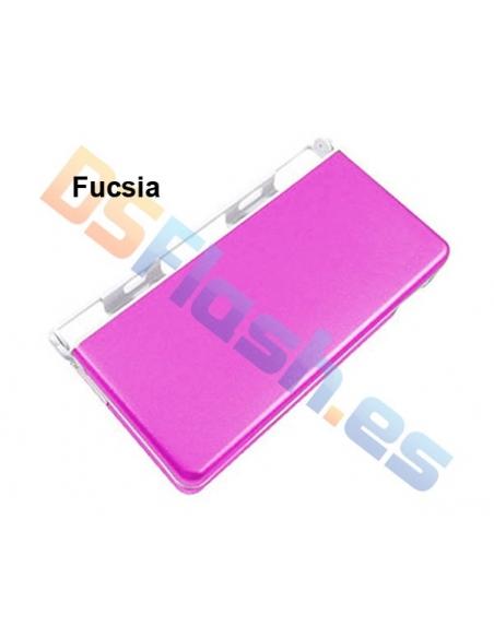 Imagen Carcasa Protección Nintendo DS Lite de Aluminio fucsia