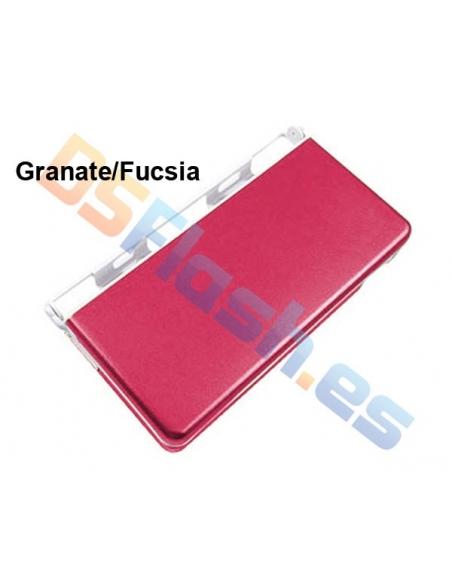 Imagen Carcasa Protección Nintendo DS Lite de Aluminio rojo