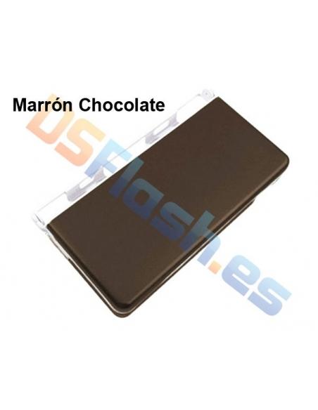 Imagen Carcasa Protección Nintendo DS Lite de Aluminio marrón