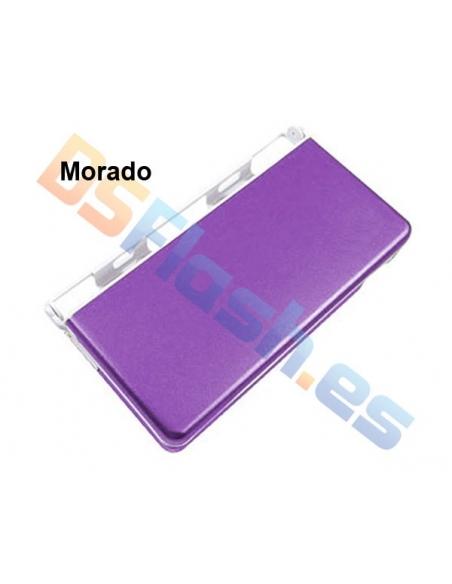 Imagen Carcasa Protección Nintendo DS Lite de Aluminio morada