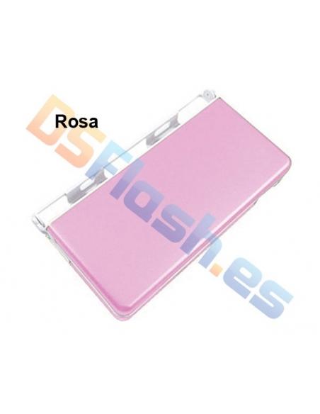 Imagen Carcasa Protección Nintendo DS Lite de Aluminio rosa