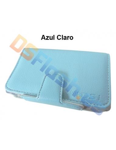 Imagen Cartera Nintendo DSi Piel Flip & Play azul claro