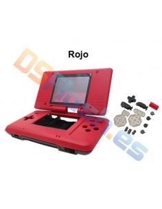 Imagen carcasa Nintendo DS de repuesto roja