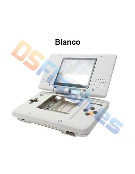 Imagen carcasa Nintendo DS de repuesto blanca