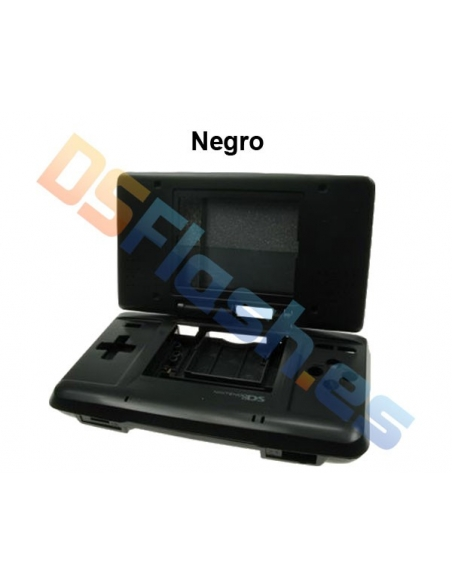 Imagen carcasa Nintendo DS de repuesto negra