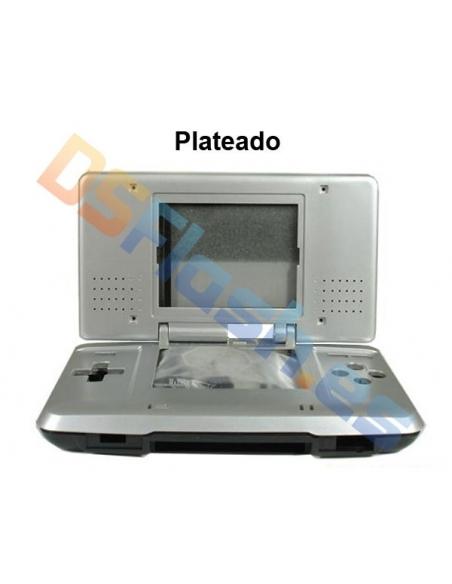 Imagen carcasa Nintendo DS de repuesto gris