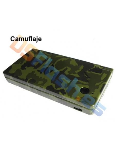 Imagen Carcasa Nintendo DSi Repuesto camuflaje