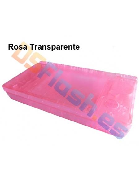 Imagen Carcasa Nintendo DSi Repuesto rosa transparente