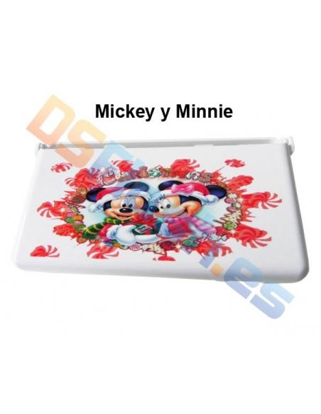 Imagen Carcasa Protección Nintendo DS Lite con Dibujos Mickey y Minnie