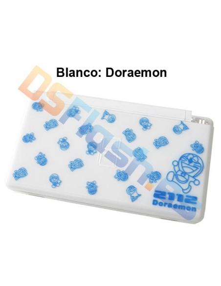 Imagen Carcasa Nintendo DS Lite de Repuesto Ed. Especial blanca doraemon
