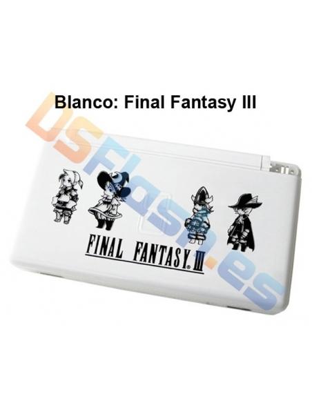 Imagen Carcasa Nintendo DS Lite de Repuesto Ed. Especial final fantasy iii