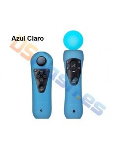 Imagen Funda Move PS3 de Silicona para Mandos azul claro