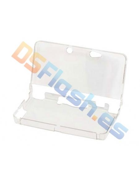 Imagen Carcasa Nintendo 3DS Protección Transparente abierta