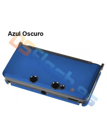 Carcasa Protección de Aluminio Nintendo 3DS - Azul oscuro