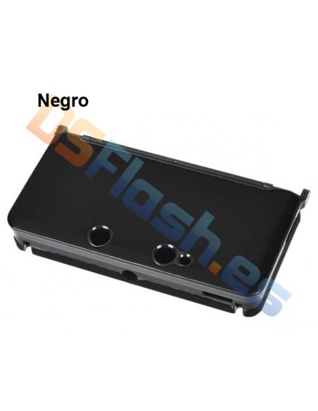 Carcasa Protección de Aluminio Nintendo 3DS - Negra