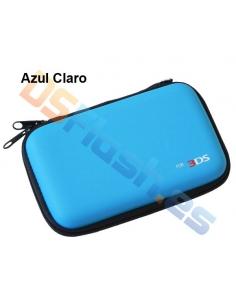 Funda Transporte AirFoam Nintendo 3DS - Azul claro
