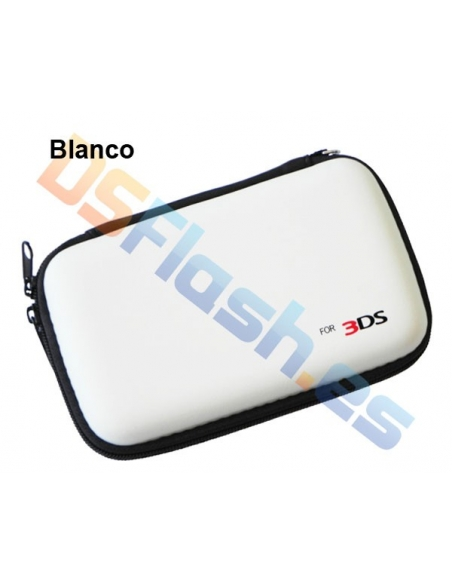 Funda Transporte AirFoam Nintendo 3DS - Blanca