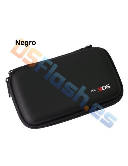 Funda Transporte AirFoam Nintendo 3DS - Negra