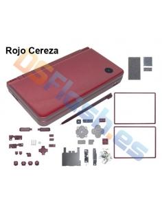 Carcasa Nintendo DSi XL de Repuesto rojo cereza
