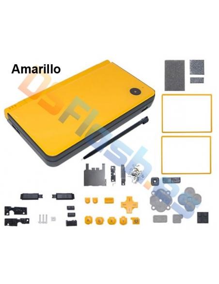 Carcasa Nintendo DSi XL de Repuesto Amarilla
