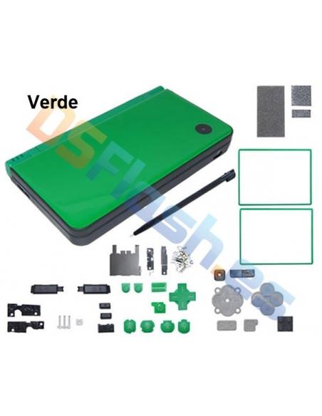 Carcasa Nintendo DSi XL de Repuesto verde