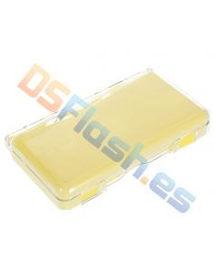 Imagen Carcasa Nintendo DS Lite Transparente con Interior Silicona