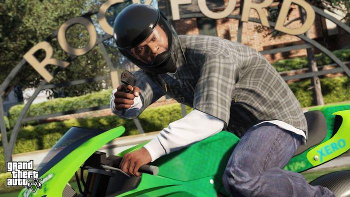 Grand Theft Auto V Almacenamiento Y Descarga De La Nueva Entrega